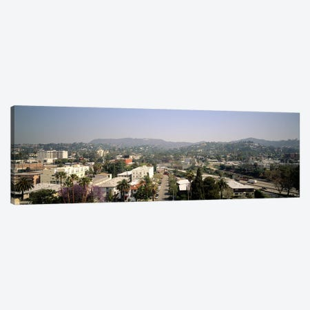 Buildings in a city, Hollywood, City of Los Angeles, California, USA Canvas Print #PIM7888} by Panoramic Images Art Print