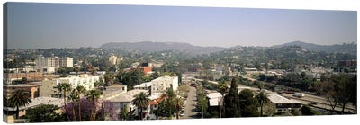 Buildings in a city, Hollywood, City of Los Angeles, California, USA Canvas Art Print