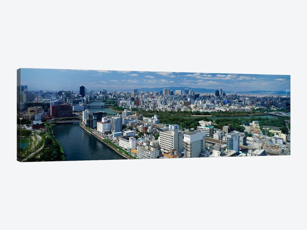 Neya River Osaka Japan by Panoramic Images 1-piece Canvas Art Print