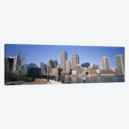 Buildings in a city, Boston, Suffolk County, Massachusetts, USA Canvas Print #PIM7890} by Panoramic Images Canvas Wall Art