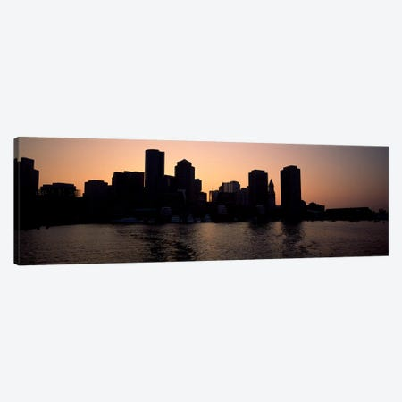 Buildings at the waterfront, Boston, Suffolk County, Massachusetts, USA #2 Canvas Print #PIM7892} by Panoramic Images Canvas Art