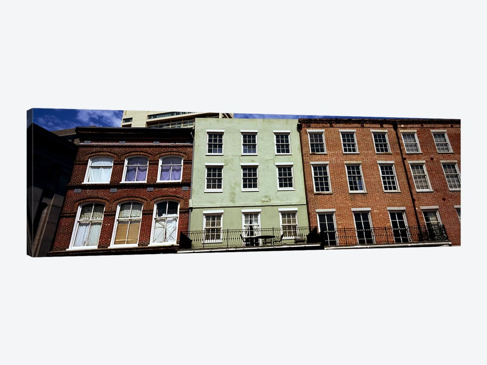 Low angle view of buildings, Riverwalk Area, New Orleans, Louisiana, USA by Panoramic Images 1-piece Canvas Art
