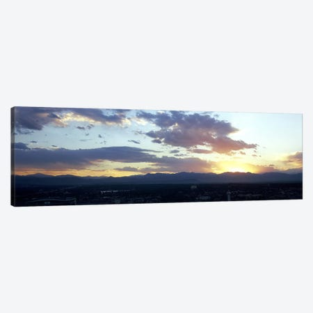 City at the sunriseDenver, Colorado, USA Canvas Print #PIM7918} by Panoramic Images Canvas Print