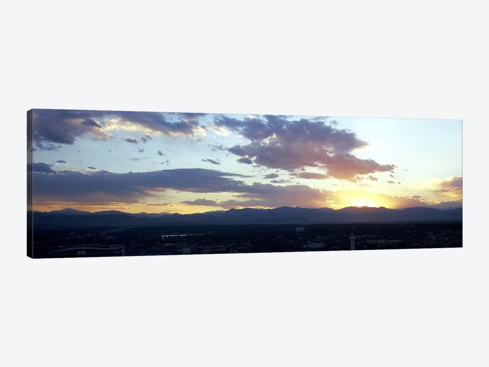 City at the sunriseDenver, Colorado, USA by Panoramic Images 1-piece Art Print