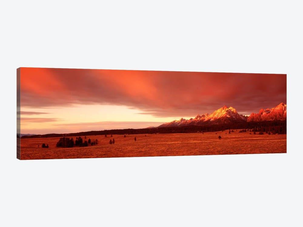 Sunrise Grand Teton National Park WY USA by Panoramic Images 1-piece Canvas Artwork