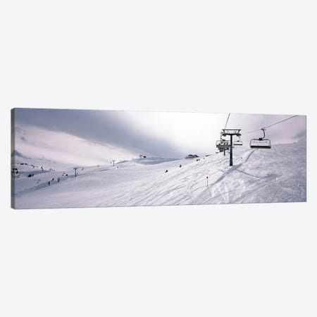 Ski lifts in a ski resort, Kitzbuhel Alps, Wildschonau, Kufstein, Tyrol, Austria Canvas Print #PIM7943} by Panoramic Images Canvas Wall Art