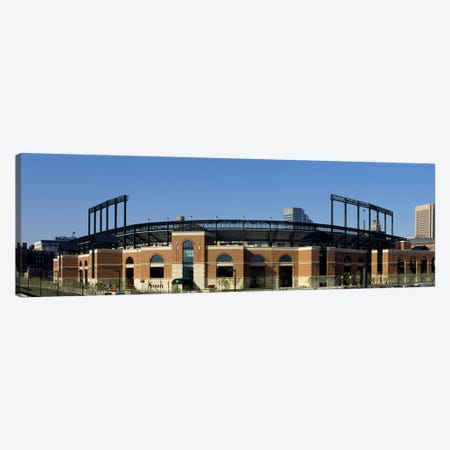 Baseball park in a city, Oriole Park at Camden Yards, Baltimore, Maryland, USA Canvas Print #PIM7950} by Panoramic Images Canvas Print