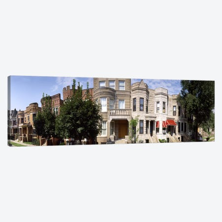 180 degree view of buildings in a city, Chicago, Cook County, Illinois, USA Canvas Print #PIM7951} by Panoramic Images Canvas Art Print