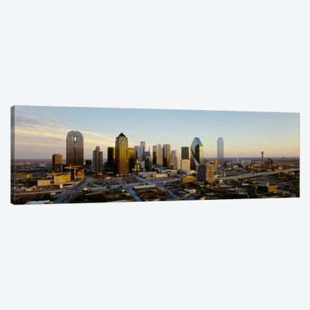 High angle view of buildings in a cityDallas, Texas, USA Canvas Print #PIM797} by Panoramic Images Canvas Art Print