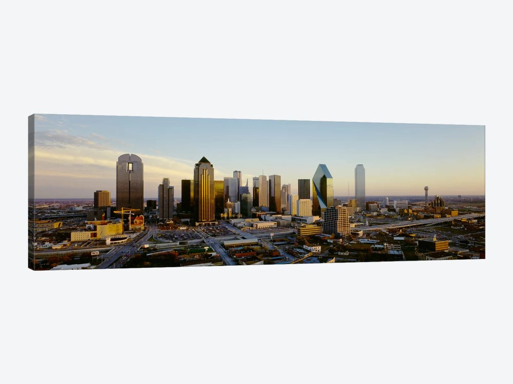 High angle view of buildings in a cityDallas, Texas, USA by Panoramic Images 1-piece Art Print