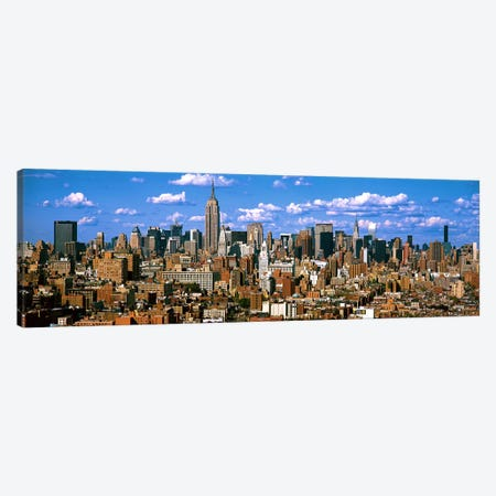 Aerial view of a city, Midtown Manhattan, Manhattan, New York City, New York State, USA Canvas Print #PIM7989} by Panoramic Images Canvas Wall Art