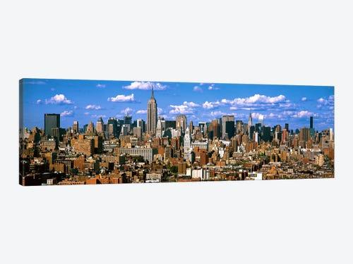 Aerial View Of A City Midtown Manhattan Manhattan New York Icanvas