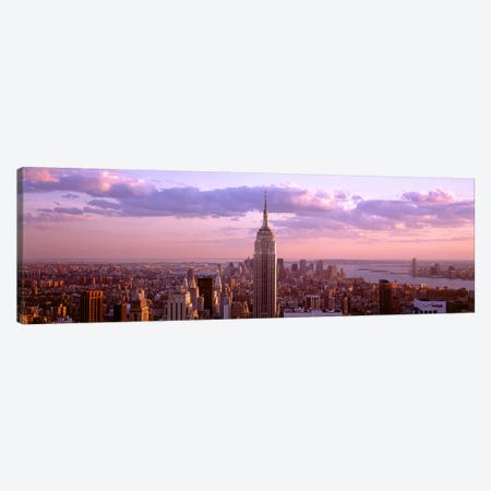 Aerial view of a city, Rockefeller Center, Midtown Manhattan, Manhattan, New York City, New York State, USA Canvas Print #PIM7991} by Panoramic Images Canvas Art Print