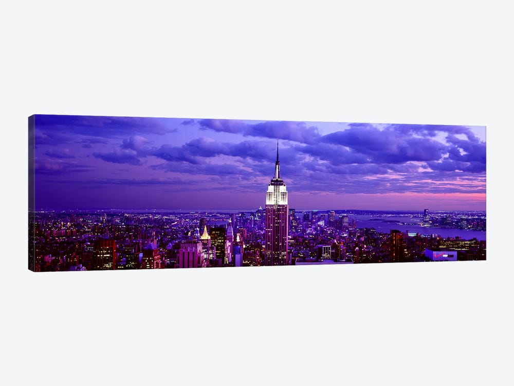 Aerial view of a city, Rockefeller Center, Midtown Manhattan, Manhattan, New York City, New York State, USA #2 by Panoramic Images 1-piece Canvas Art Print