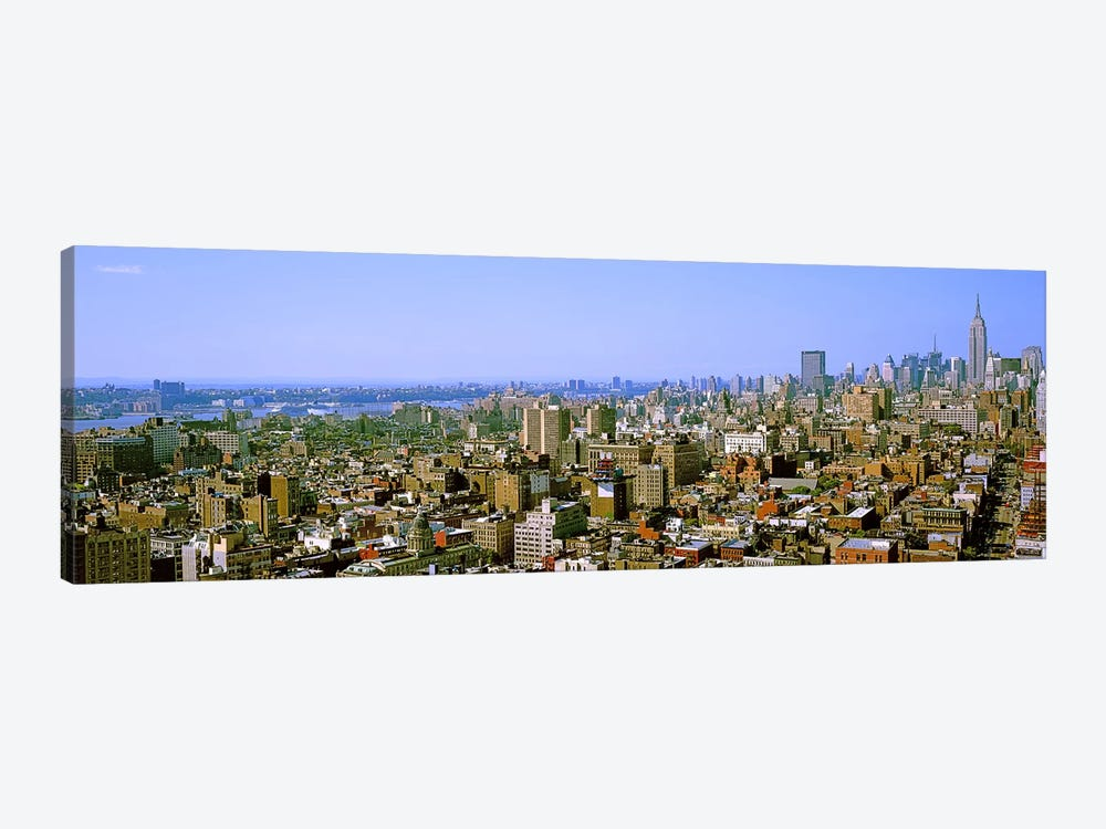 Aerial view of a city, New York City, New York State, USA #4 by Panoramic Images 1-piece Canvas Art