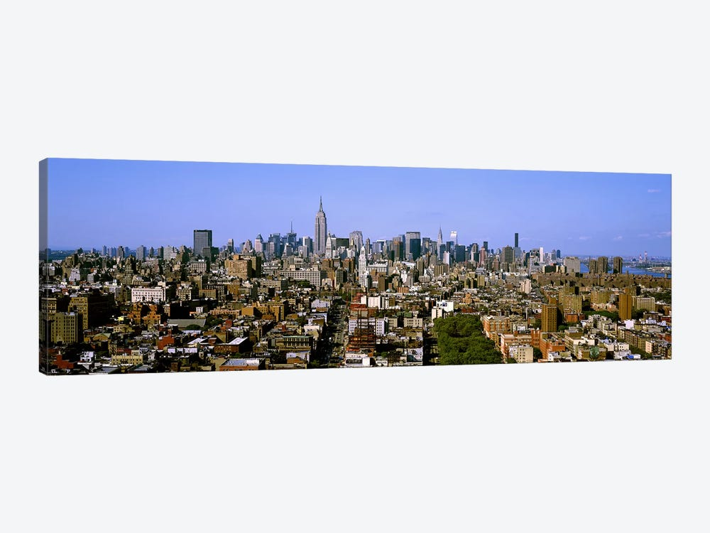 Aerial view of a city, New York City, New York State, USA #5 by Panoramic Images 1-piece Canvas Art Print