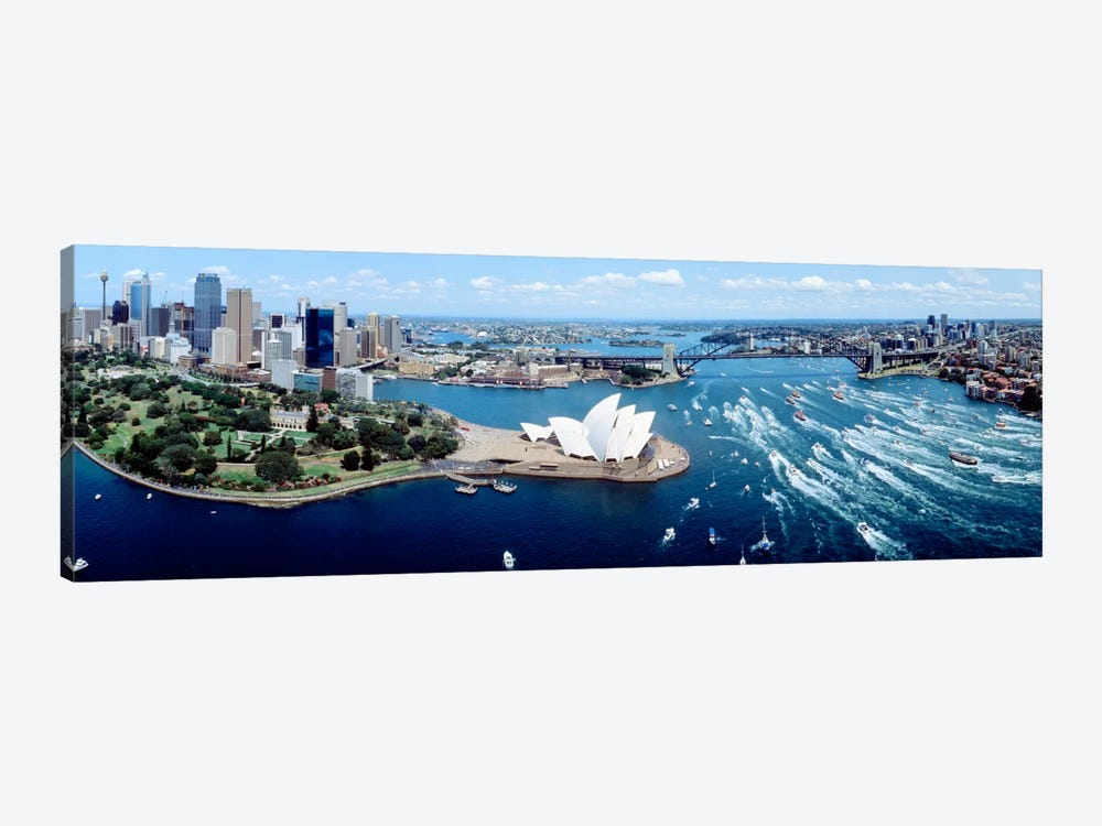 Australia, Sydney, aerial  by Panoramic Images 1-piece Canvas Art Print