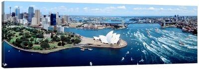 Australia, Sydney, aerial  Canvas Art Print