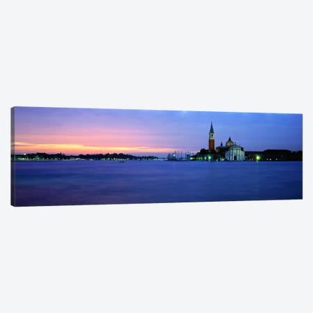 Church at the waterfront, Redentore Church, Giudecca, Venice, Veneto, Italy Canvas Print #PIM8002} by Panoramic Images Art Print