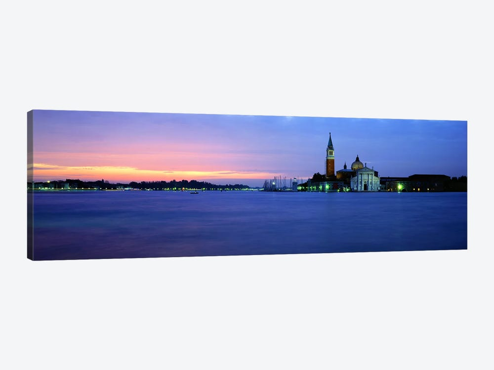 Church at the waterfront, Redentore Church, Giudecca, Venice, Veneto, Italy 1-piece Canvas Print