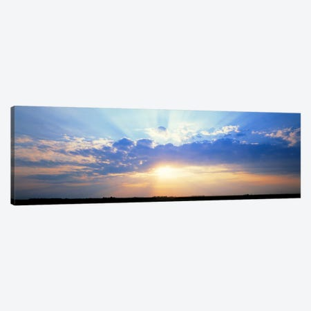 Sunrise Stelle IL USA Canvas Print #PIM800} by Panoramic Images Canvas Art
