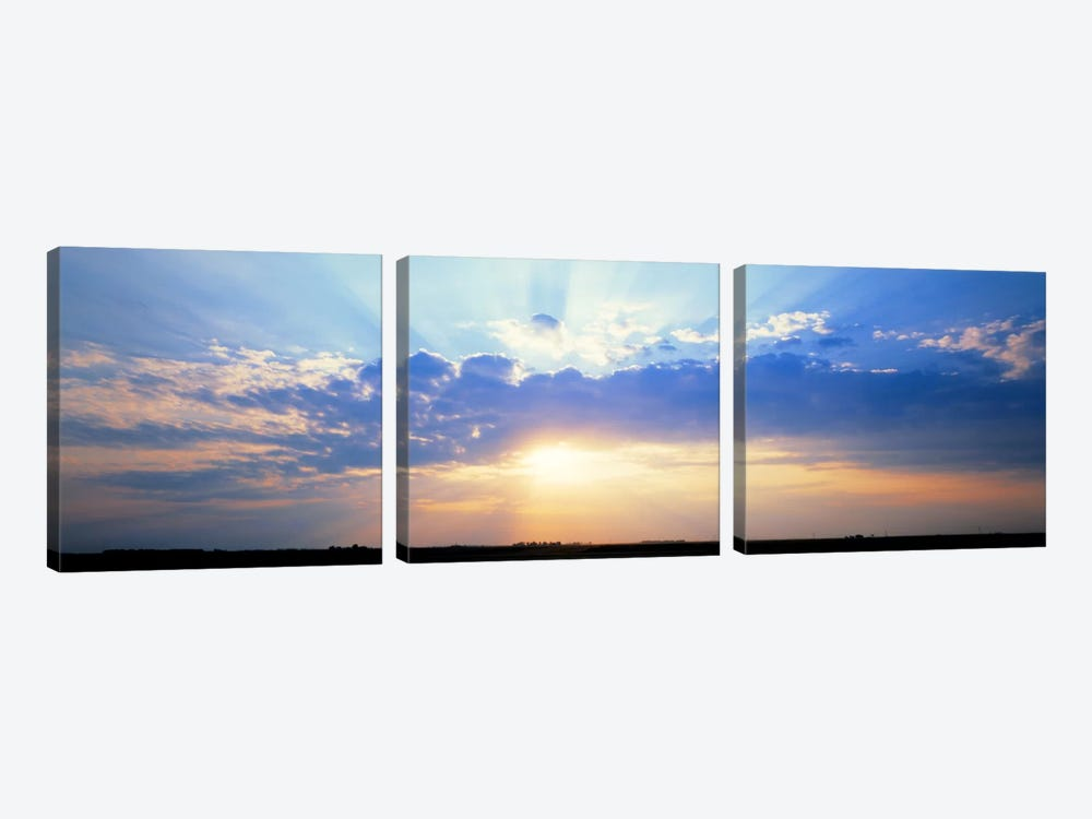 Sunrise Stelle IL USA by Panoramic Images 3-piece Art Print