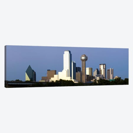 Skyscrapers in a city, Reunion Tower, Dallas, Texas, USA #2 Canvas Print #PIM8012} by Panoramic Images Canvas Art