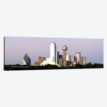 Skyscrapers in a city, Reunion Tower, Dallas, Texas, USA #5 Canvas Print #PIM8015} by Panoramic Images Art Print