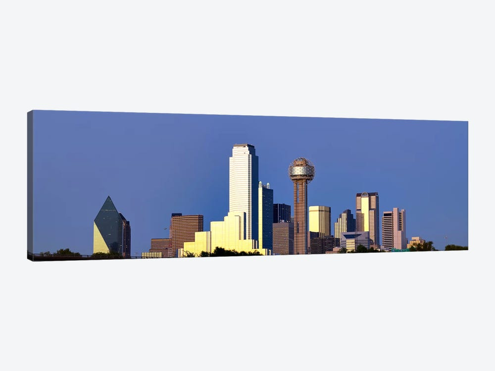 Skyscrapers in a city, Reunion Tower, Dallas, Texas, USA #6 by Panoramic Images 1-piece Canvas Wall Art