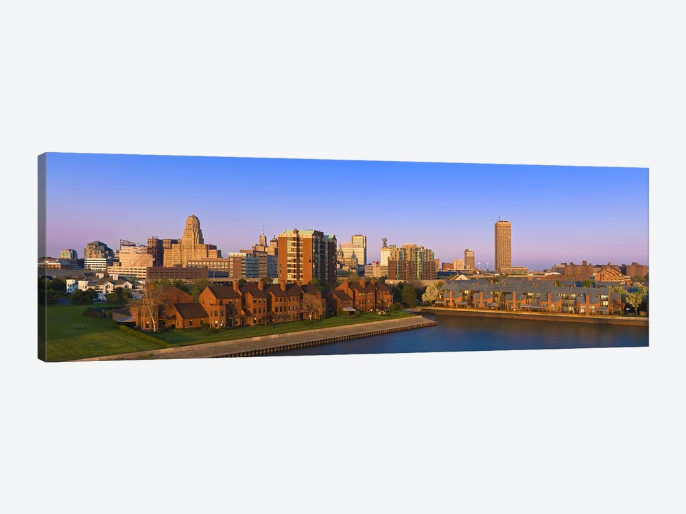 High angle view of a city, Buffalo, New York State, USA by Panoramic Images 1-piece Art Print