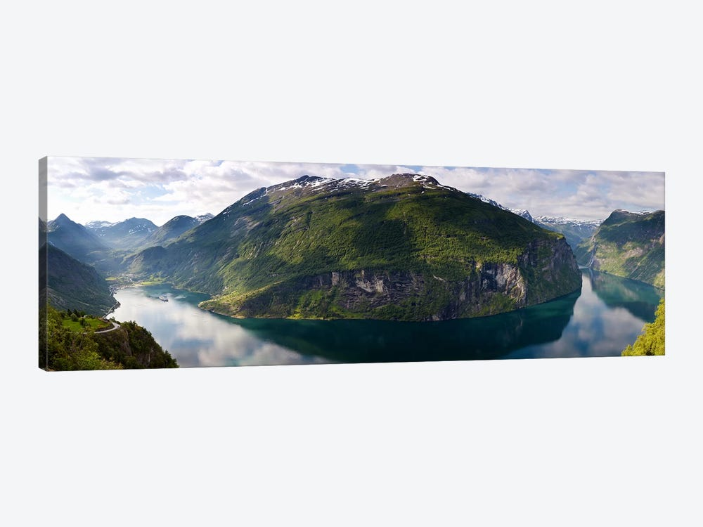 Geirangerfjord, Sunnmore, More og Romsdal, Vestlandet, Norway by Panoramic Images 1-piece Canvas Art