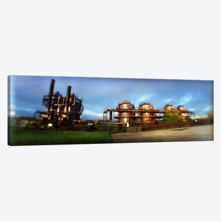 Old oil refinery, Gasworks Park, Seattle, King County, Washington State, USA Canvas Print #PIM8053} by Panoramic Images Canvas Art