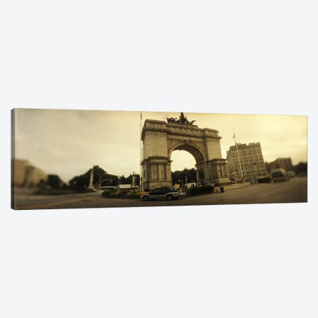 War memorial, Soldiers And Sailors Memorial Arch, Prospect Park, Grand Army Plaza, Brooklyn, New York City, New York State, USA Canvas Print #PIM8057} by Panoramic Images Canvas Print