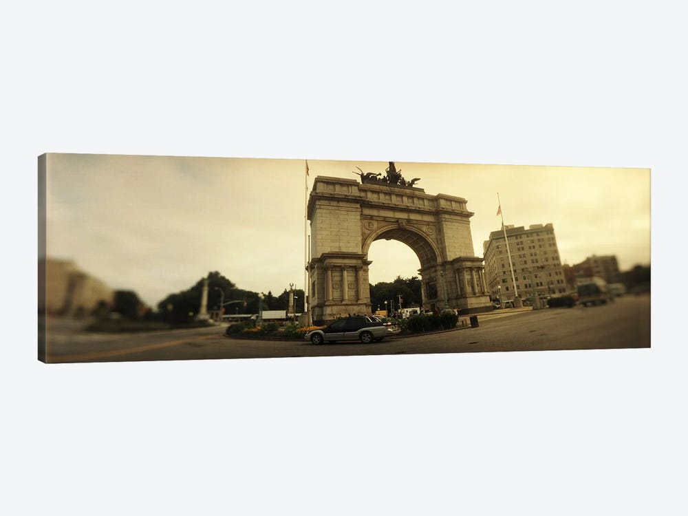 War memorial, Soldiers And Sailors Memorial Arch, Prospect Park, Grand Army Plaza, Brooklyn, New York City, New York State, USA by Panoramic Images 1-piece Art Print