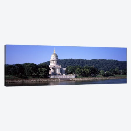 West Virginia State Capitol, Charleston, Kanawha County, West Virginia, USA Canvas Print #PIM8069} by Panoramic Images Canvas Print
