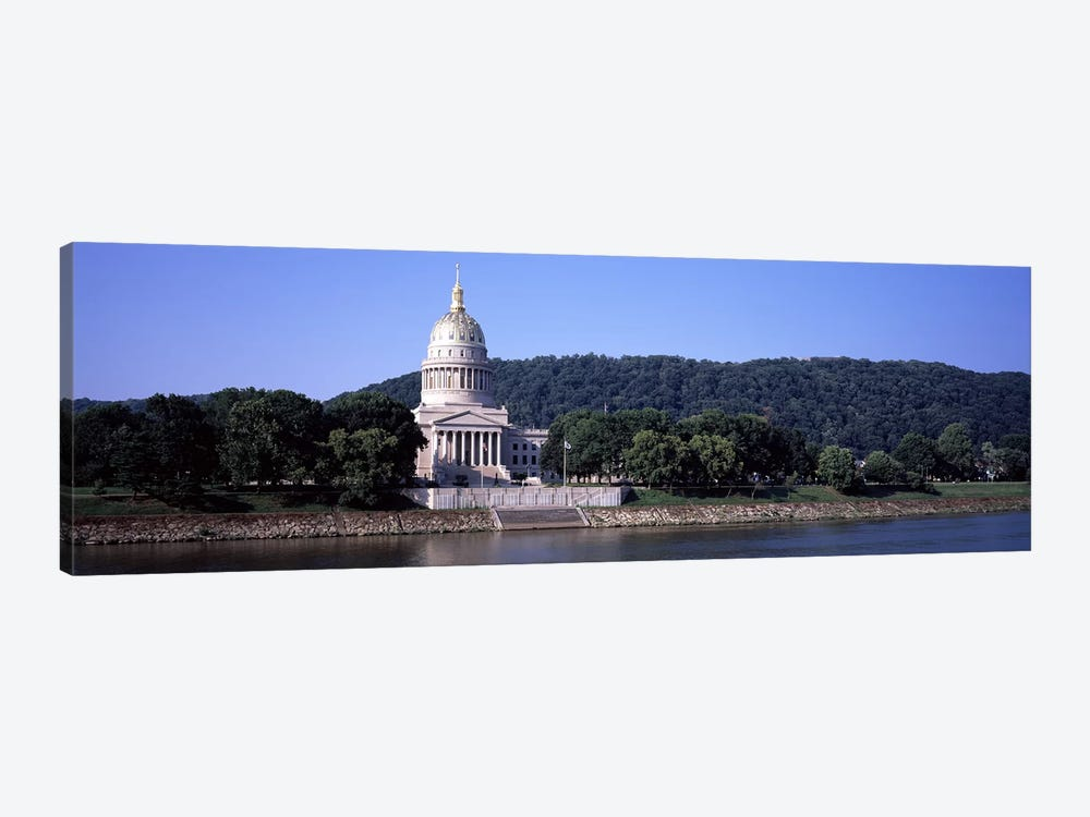 West Virginia State Capitol, Charleston, Kanawha County, West Virginia, USA by Panoramic Images 1-piece Canvas Artwork