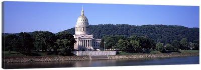 West Virginia State Capitol, Charleston, Kanawha County, West Virginia, USA Canvas Art Print
