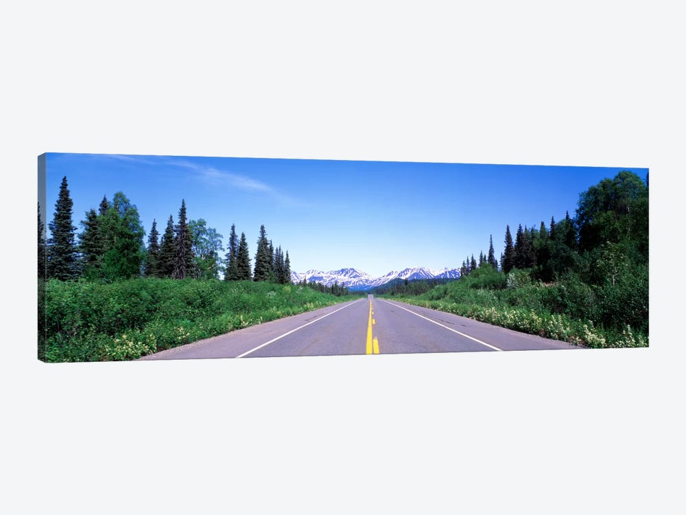 George Parks Highway AK by Panoramic Images 1-piece Canvas Print