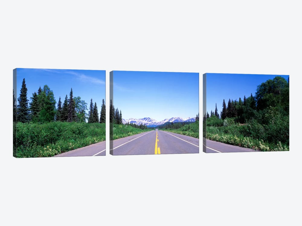 George Parks Highway AK by Panoramic Images 3-piece Canvas Art Print