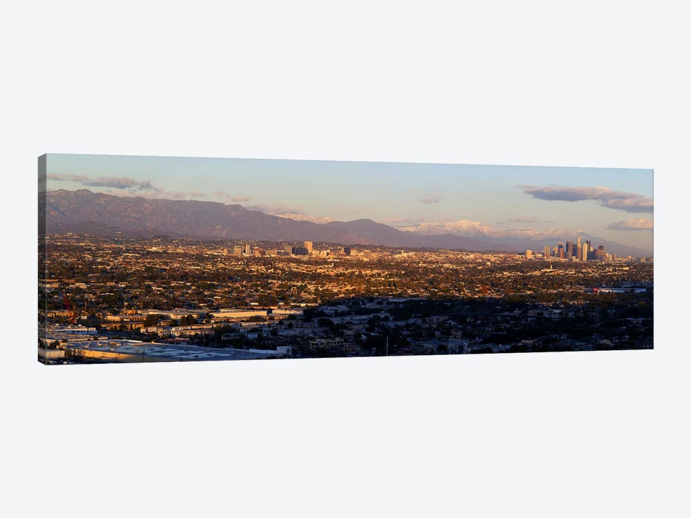 Buildings in a cityLos Angeles, California, USA by Panoramic Images 1-piece Canvas Art Print