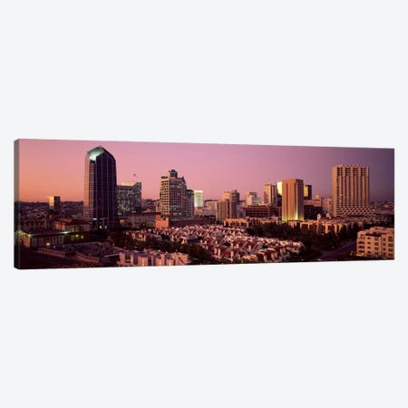 Buildings in a citySan Diego, San Diego County, California, USA Canvas Print #PIM809} by Panoramic Images Canvas Artwork