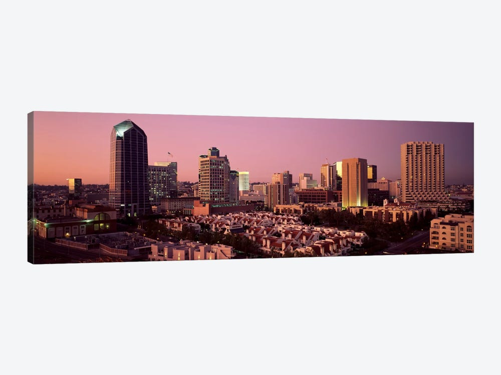 Buildings in a citySan Diego, San Diego County, California, USA by Panoramic Images 1-piece Canvas Art