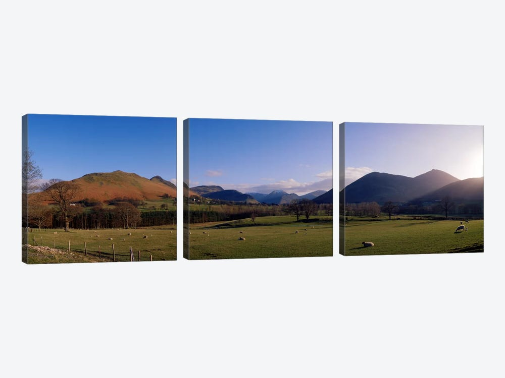 Valley Northern Lake District Cumbria Newlands England by Panoramic Images 3-piece Canvas Artwork