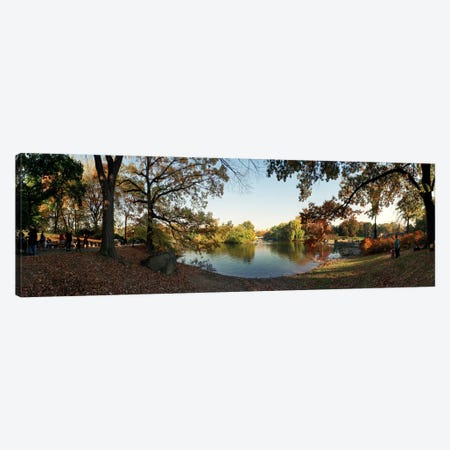 360 degree view of an urban park, Central Park, Manhattan, New York City, New York State, USA #2 Canvas Print #PIM8118} by Panoramic Images Canvas Print
