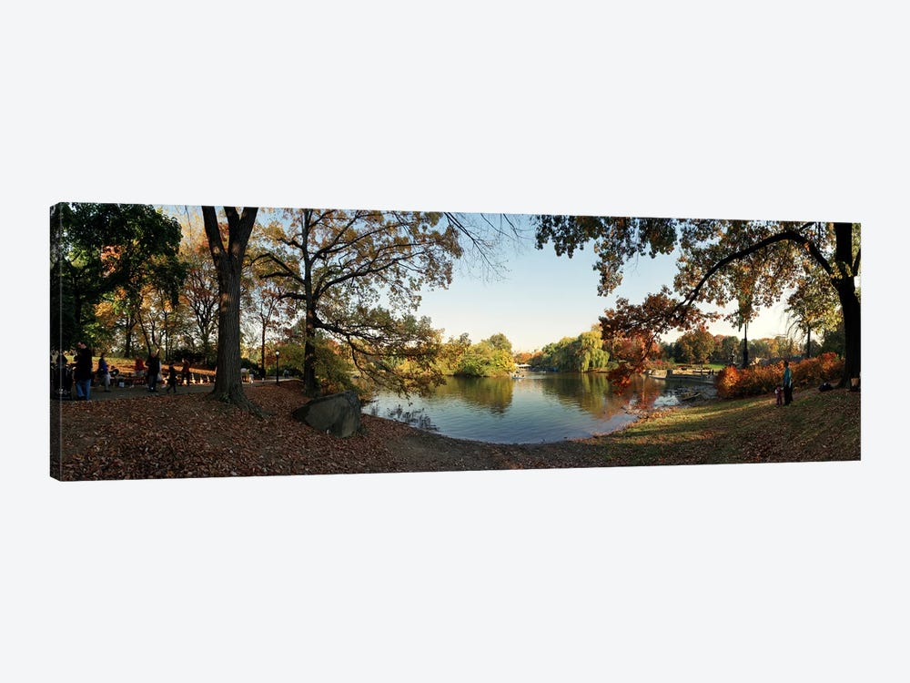 360 degree view of an urban park, Central Park, Manhattan, New York City, New York State, USA #2 by Panoramic Images 1-piece Canvas Print
