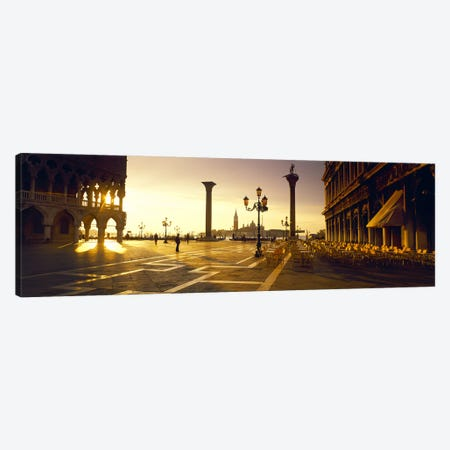 View Of San Giorgio Maggiore From Piazza San Marco, Venice, Veneto, Italy Canvas Print #PIM8122} by Panoramic Images Canvas Artwork