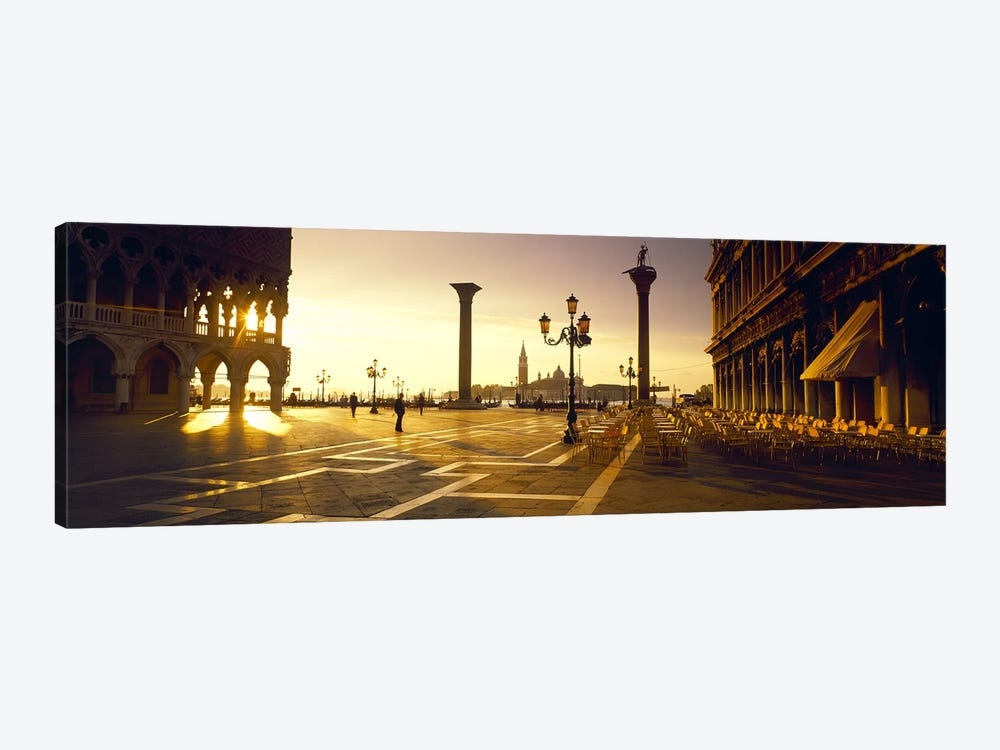View Of San Giorgio Maggiore From Piazza San Marco, Venice, Veneto, Italy by Panoramic Images 1-piece Canvas Art
