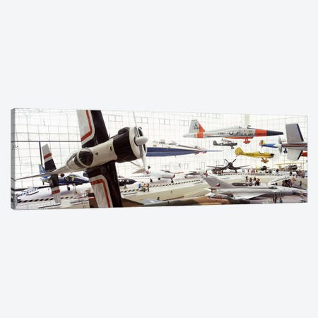 Interiors of a museum, Museum of Flight, Seattle, Washington State, USA Canvas Print #PIM8142} by Panoramic Images Canvas Artwork