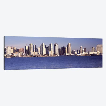 Buildings at the waterfront, San Diego, California, USA 2010 #2 Canvas Print #PIM8165} by Panoramic Images Art Print