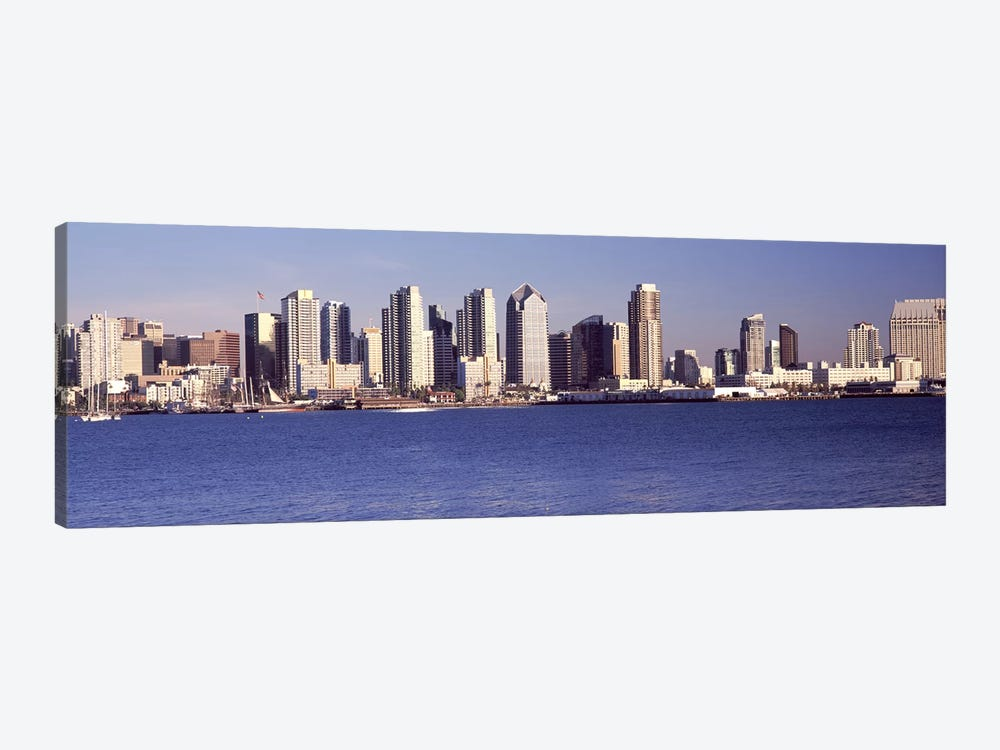 Buildings at the waterfront, San Diego, California, USA 2010 #2 by Panoramic Images 1-piece Canvas Print